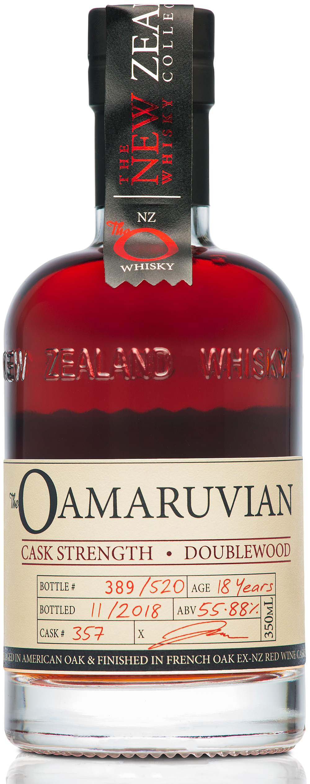 The New Zealand Whisky Collection Oamaruvian Cask Strength